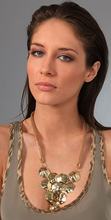 Tuleste Tiered Hexagon Necklace