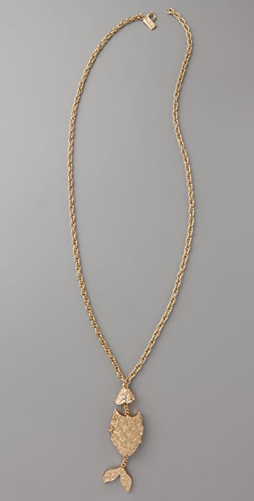 Tuleste Fish Locket Necklace