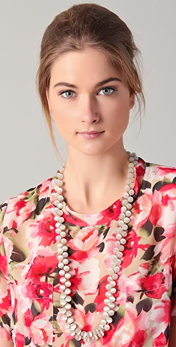 Tuleste Braided Marble Necklace