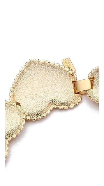 Tuleste Interlocking Heart Necklace