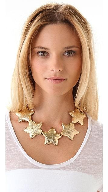 Tuleste Interlocking Star Necklace