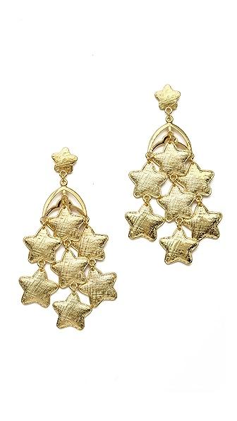 Tuleste Star Chandelier Earrings