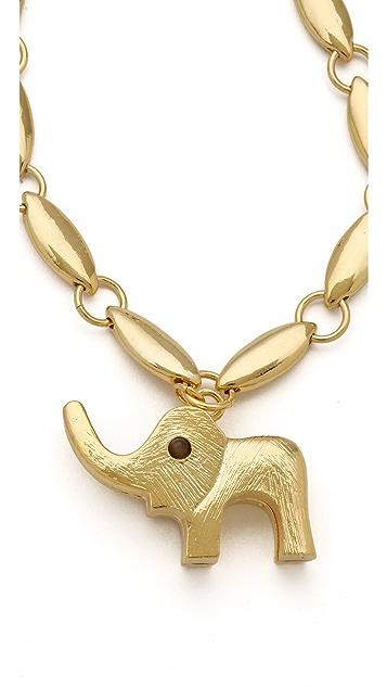 Tuleste Elephant Pendant Necklace