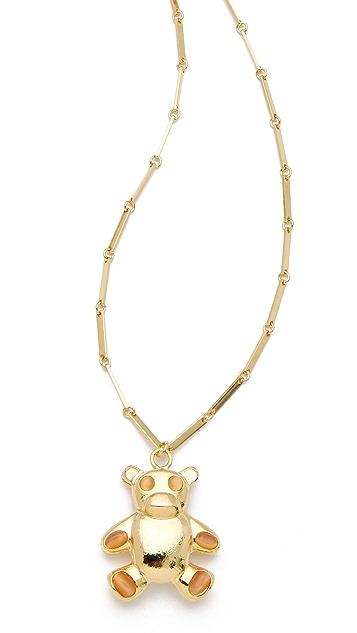Tuleste Bear Pendant Necklace
