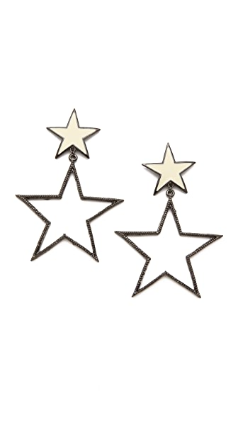 Tuleste Double Star Earrings