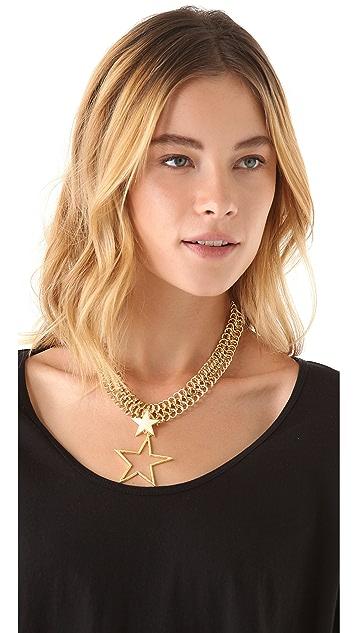 Tuleste Double Star Necklace