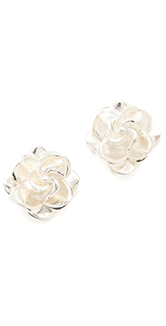 Tuleste Rosette Stud Earrings