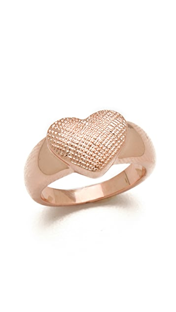 Tuleste Single Heart Ring