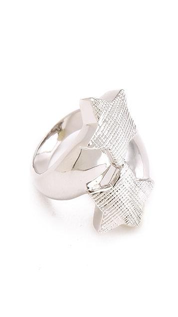 Tuleste Double Star Ring
