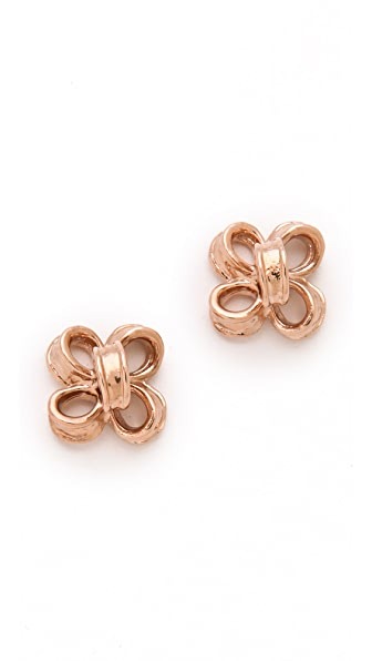 Tuleste Ribbon Stud Earrings