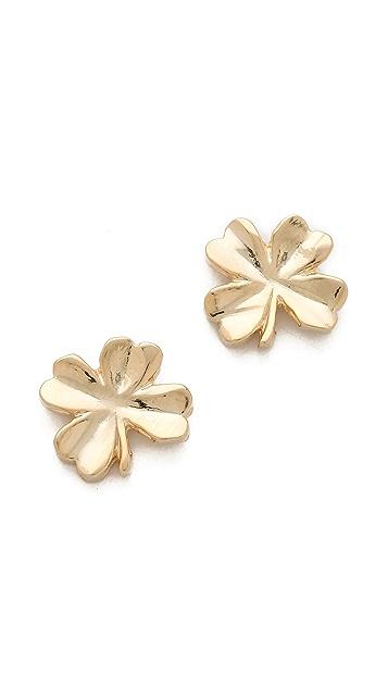 Tuleste Shamrock Stud Earrings
