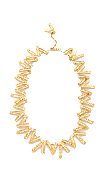 Tuleste Wheat Flower Necklace