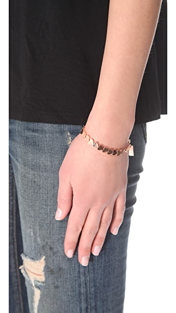Tuleste Heart Chain Bracelet