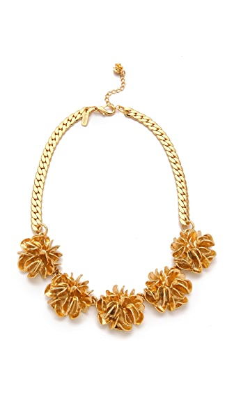 Tuleste Large Flower Necklace