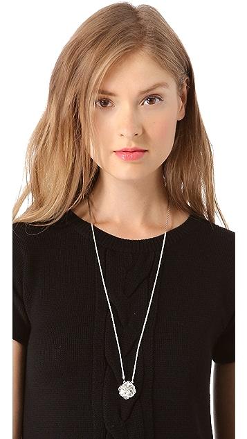 Tuleste Rosette Scapular Necklace