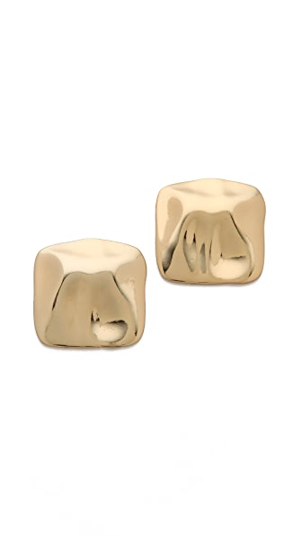 Tuleste Hammered Stud Earrings
