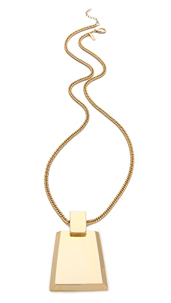 Tuleste Trapezoid Necklace