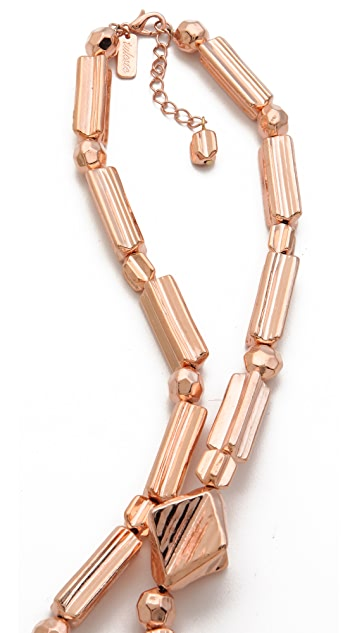 Tuleste Geometric Long Necklace