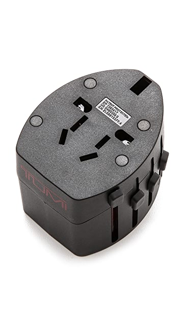 Tumi International Travel Electric Adaptor