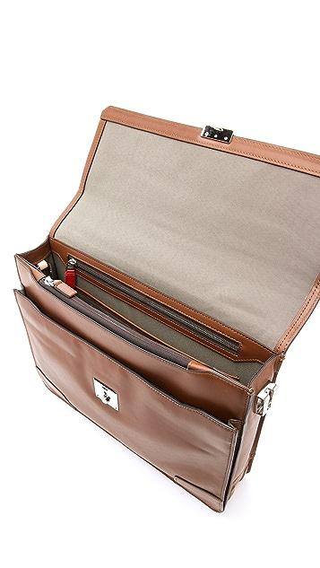 Tumi Dorilton Slim Flap Briefcase