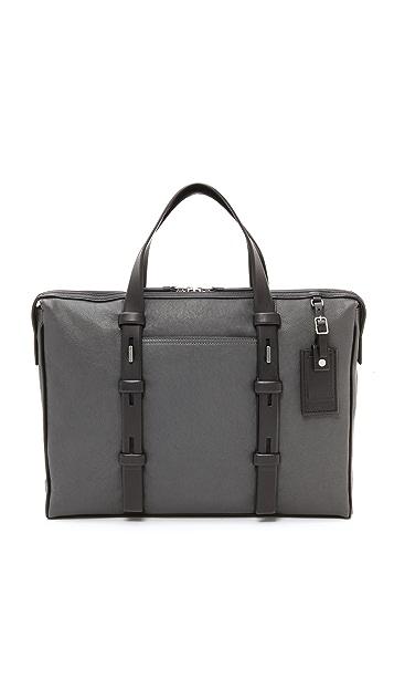 Tumi Harrison Leather Briefcase