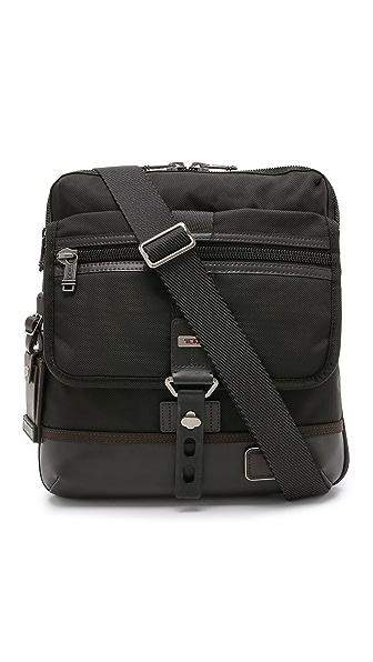 Tumi Alpha Bravo Annapolis Zip Flap Messenger Bag