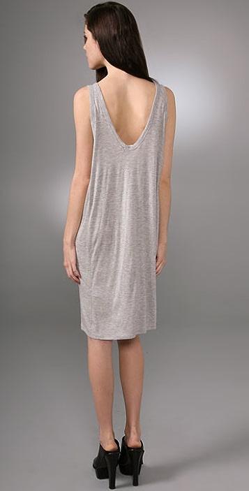 T by Alexander Wang Paneled Tank Dress