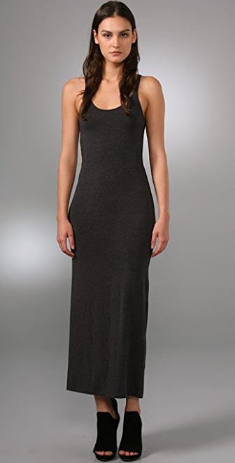 T by Alexander Wang Modal Spandex Long Tank Dress