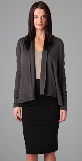 T by Alexander Wang Batting Shawl Cardigan