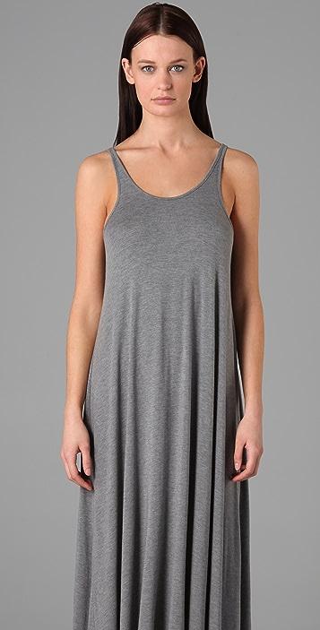 T by Alexander Wang Asymmetrical Long Dress