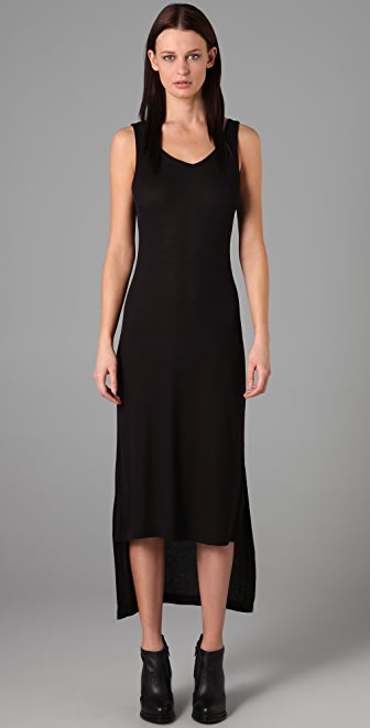 T by Alexander Wang Scoop Back Long Dress