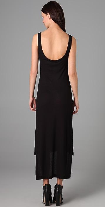 T by Alexander Wang Scoop Back Long Dress