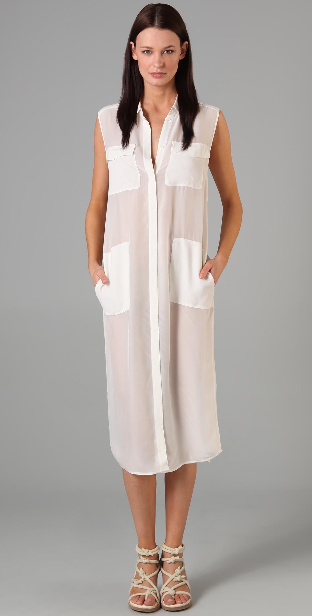 silk t shirt dress