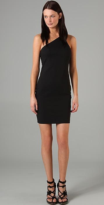 T by Alexander Wang One Shoulder Jersey Dress