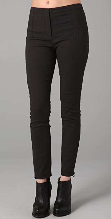 T by Alexander Wang Cotton Modal Skinny Pants