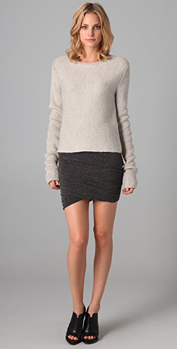T by Alexander Wang Chunky Pullover