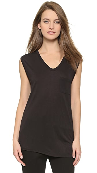 T by Alexander Wang Classic Muscle Tee