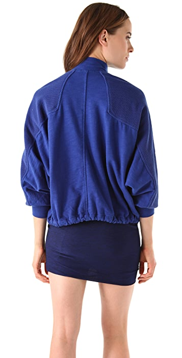 T by Alexander Wang Batwing Sweat Jacket