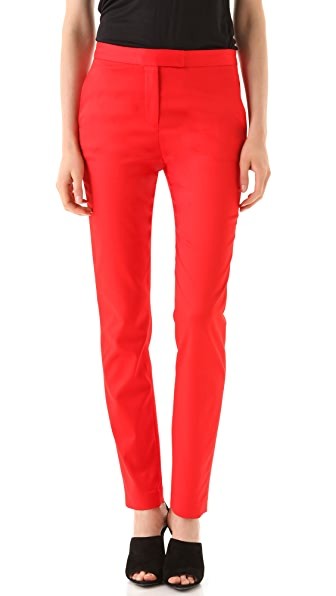 T by Alexander Wang Cropped Stretch Twill Trousers