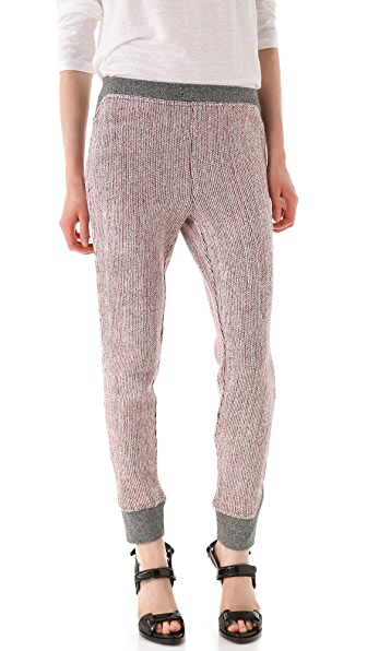 T by Alexander Wang French Terry V Yoke Sweatpants