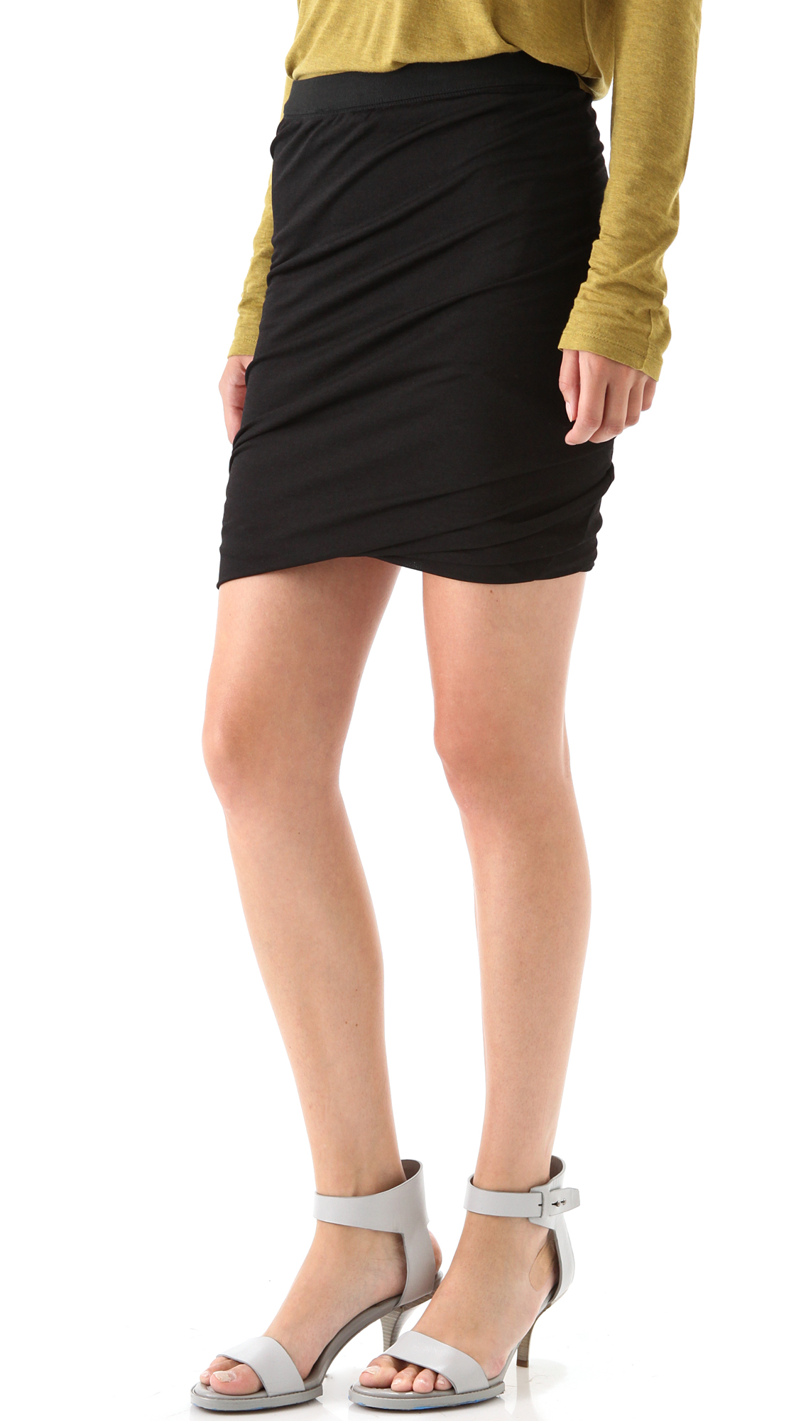 vogue and patterns top prevnext drapes misses draped skirt