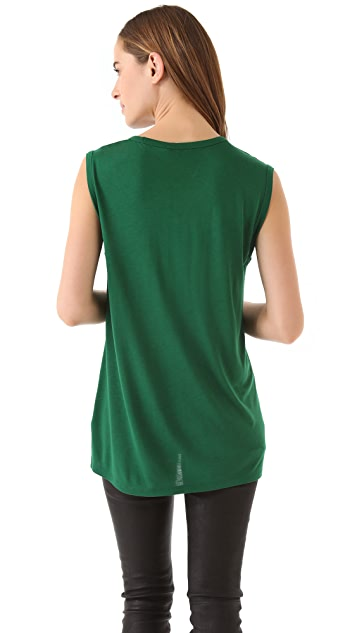 T by Alexander Wang Classic Muscle Tee With Pocket