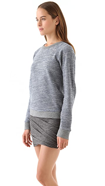 T by Alexander Wang Rainbow French Terry Sweatshirt