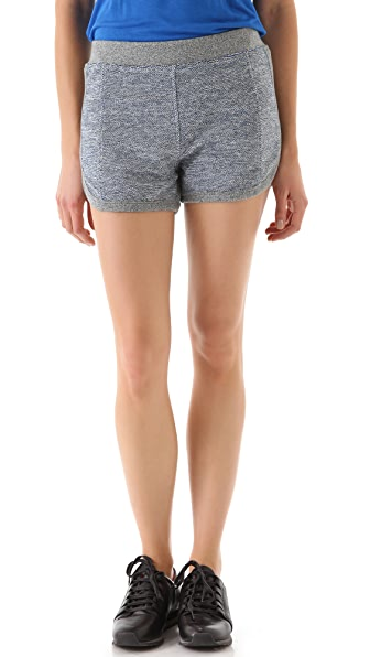 T by Alexander Wang Rainbow French Terry Shorts