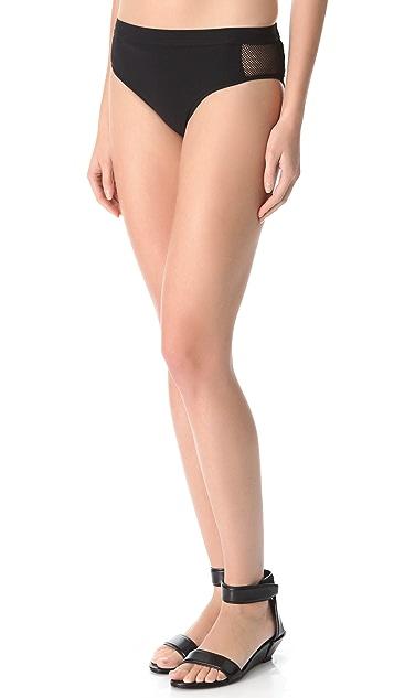 T by Alexander Wang Mesh Boy Bikini Bottoms