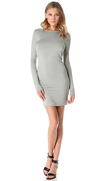 T by Alexander Wang Drape Back Dress