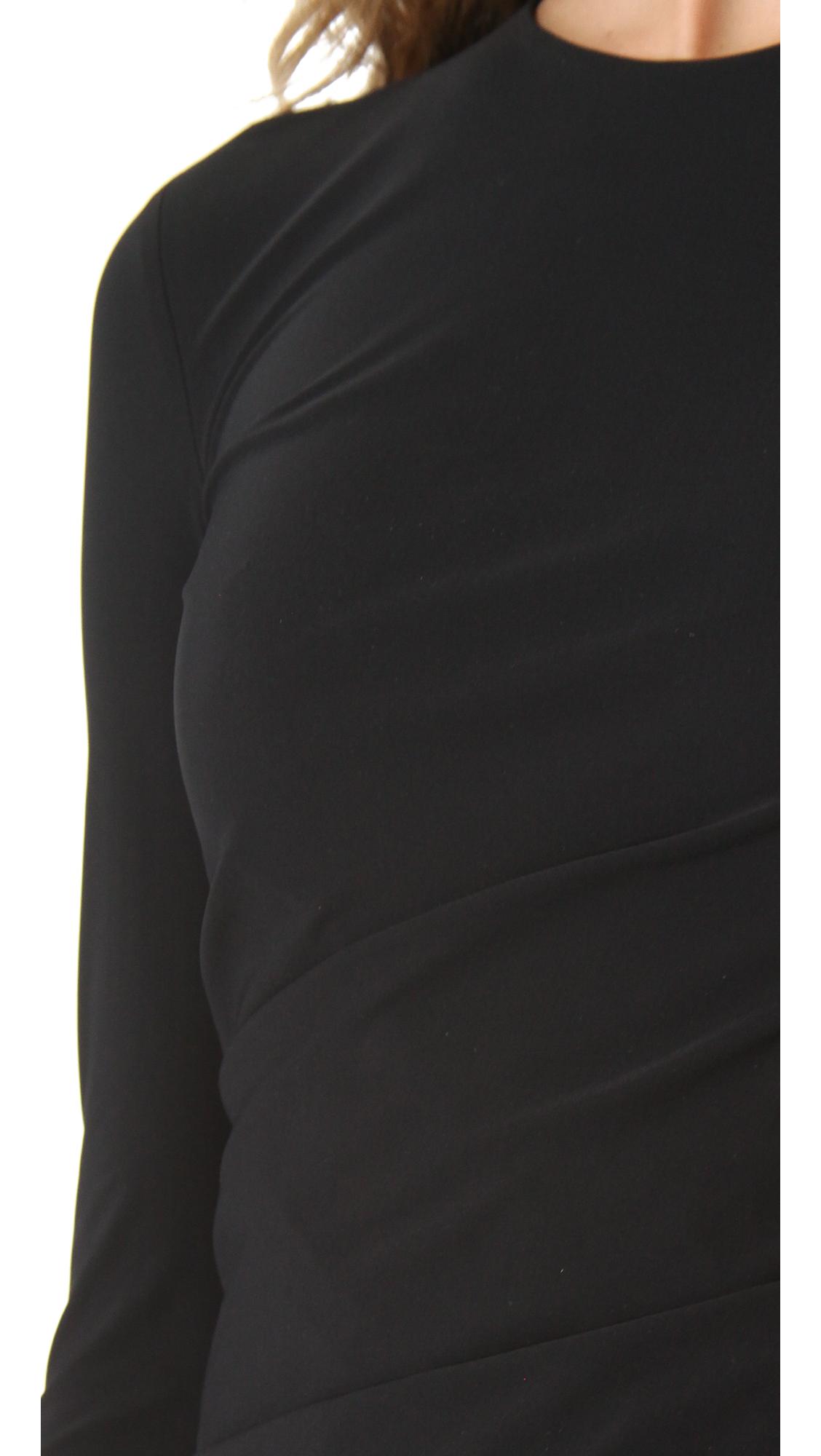 7fc8e13ec490 alexanderwang.t Long Sleeve Twist Dress