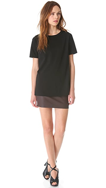 T by Alexander Wang Jersey Crew Neck Tee