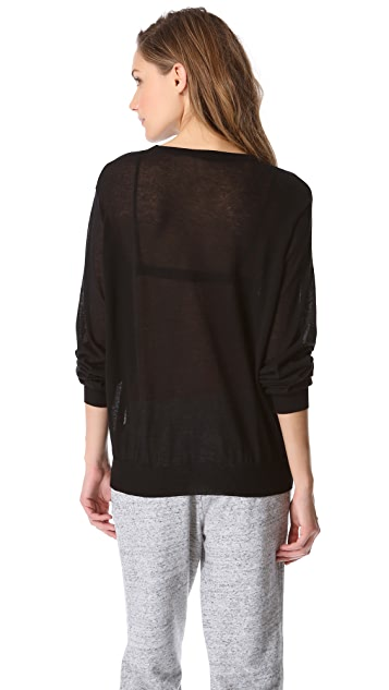 T by Alexander Wang Long Sleeve Pullover