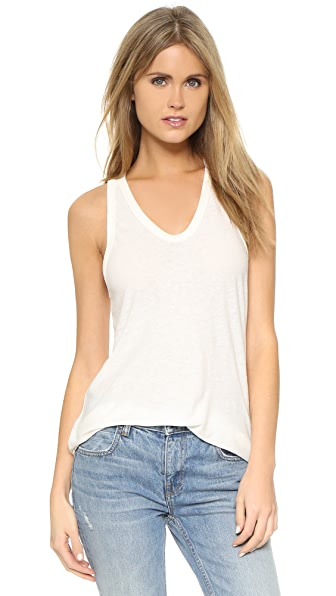 T by Alexander Wang Slubbed Classic Tank